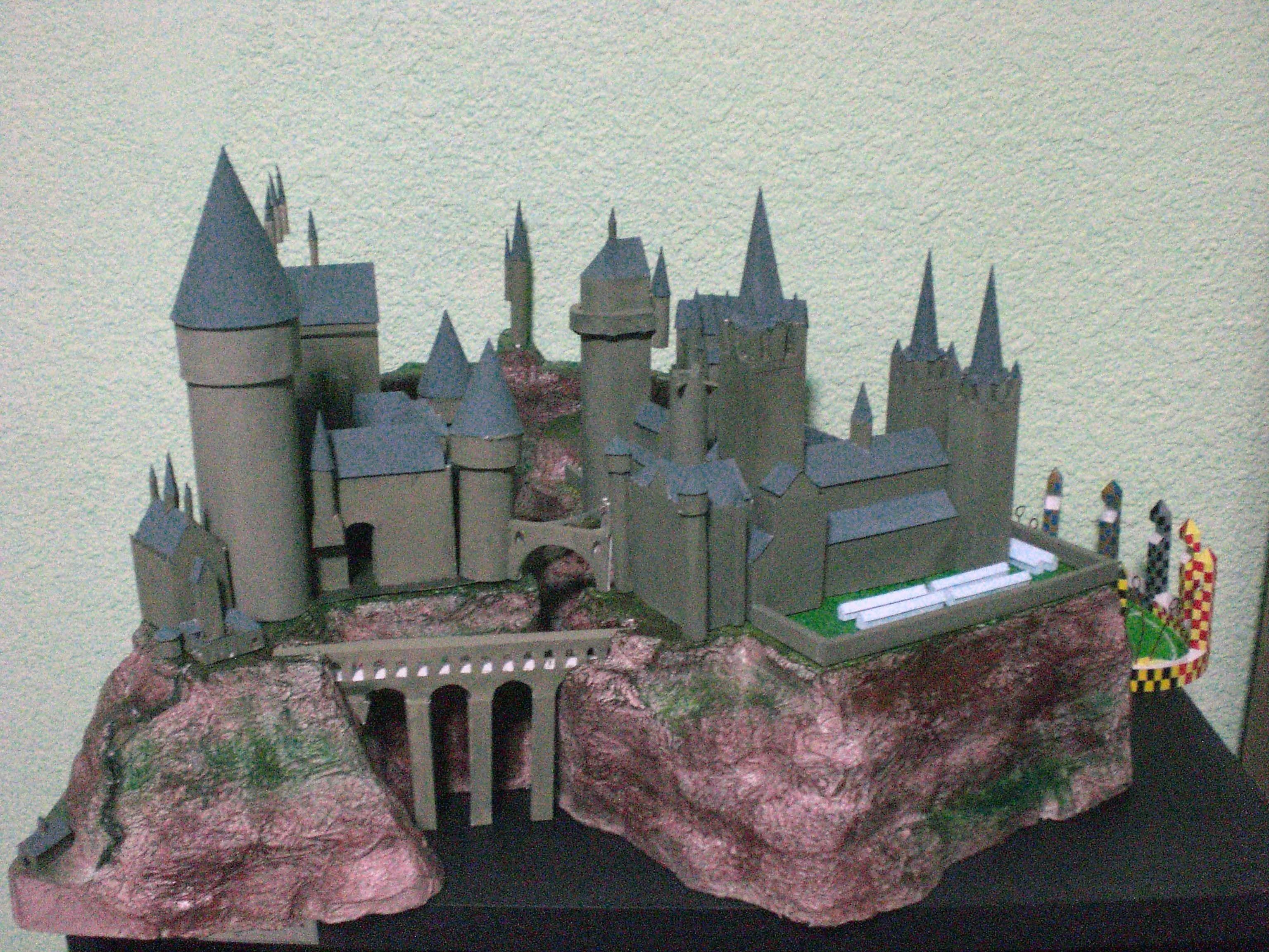 Hogwarts Papercraft Castle Google Keresés Etc Pinterest