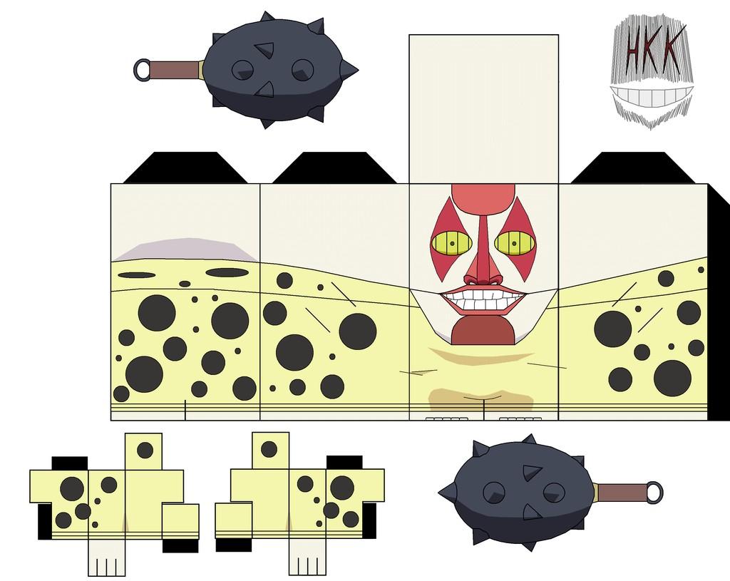 Hollos Papercraft Dondochakka Birstanne Paper toy