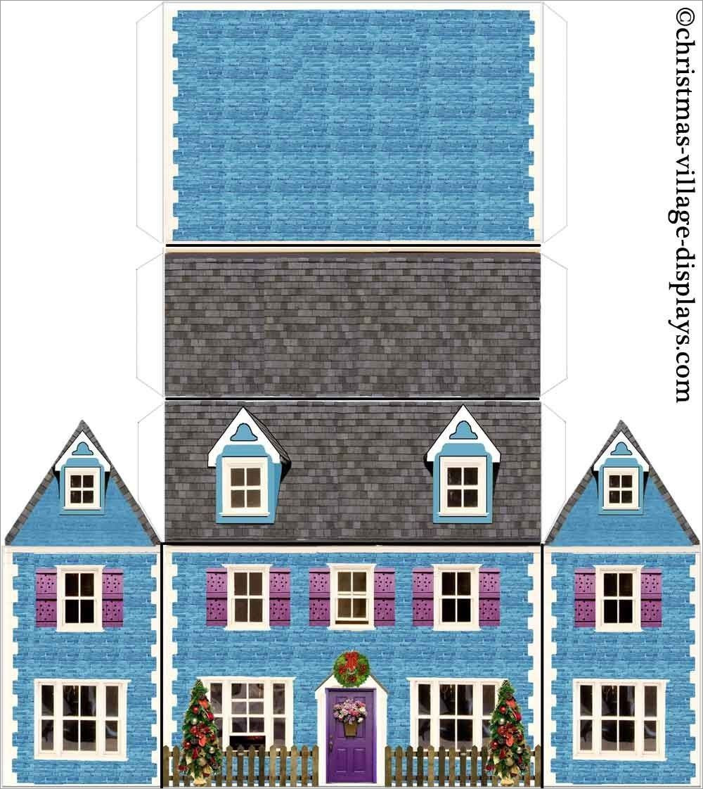 House Papercraft House Papercraft Bluebell Cottage