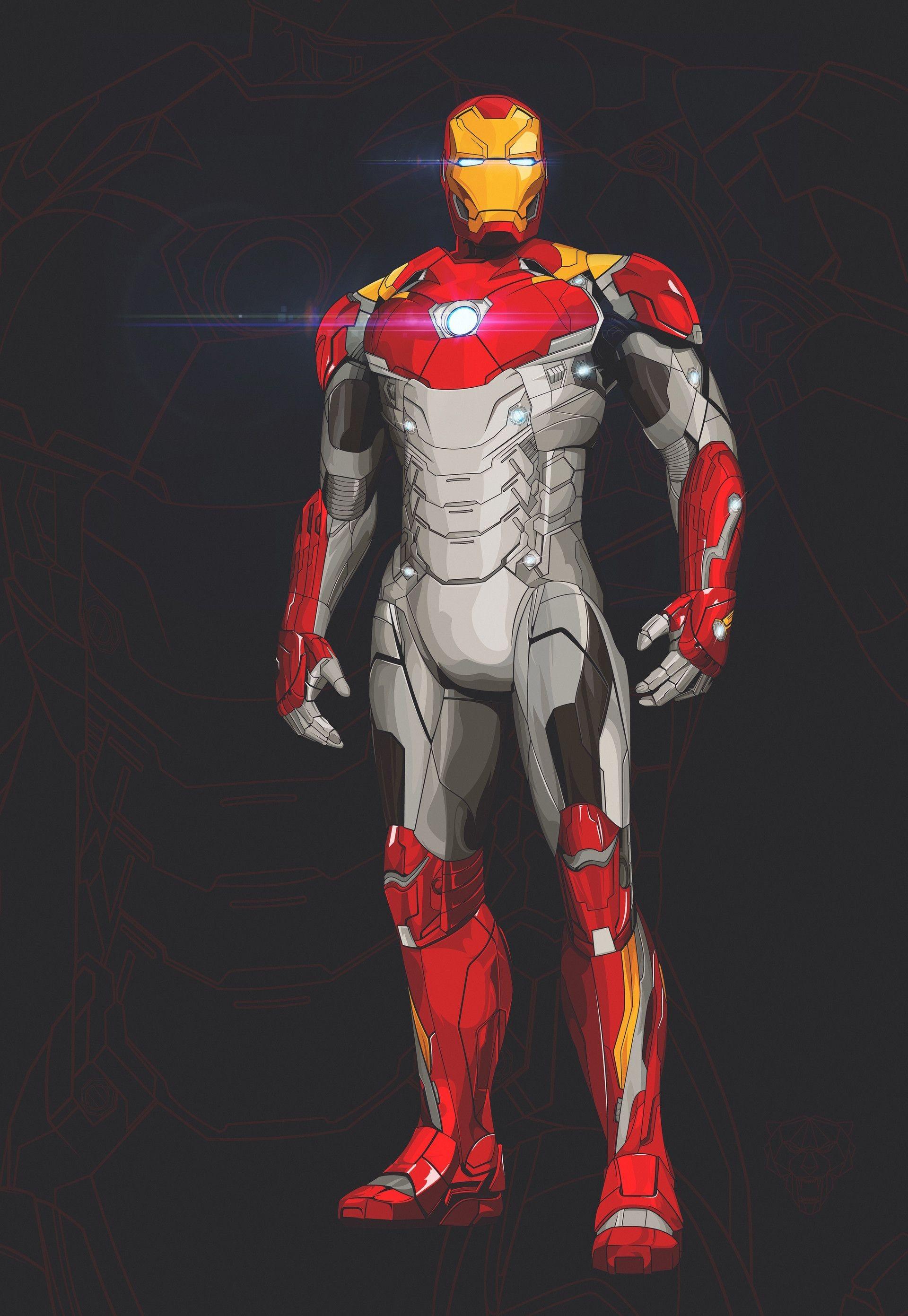 Iron Man Papercraft Iron Man Mark 47 Marvel & Dc Ics Pinterest