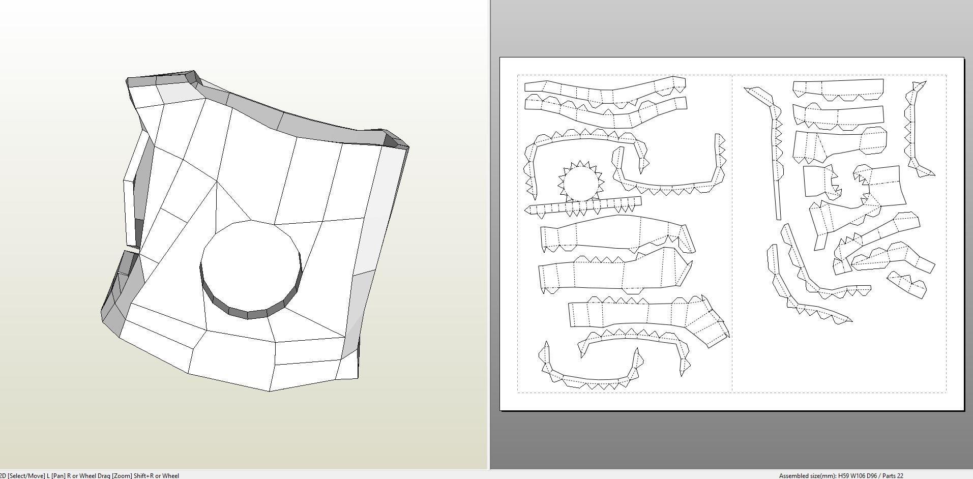 Ironman Papercraft Papercraft Pdo File Template for Iron Man Mk7 Full Armor