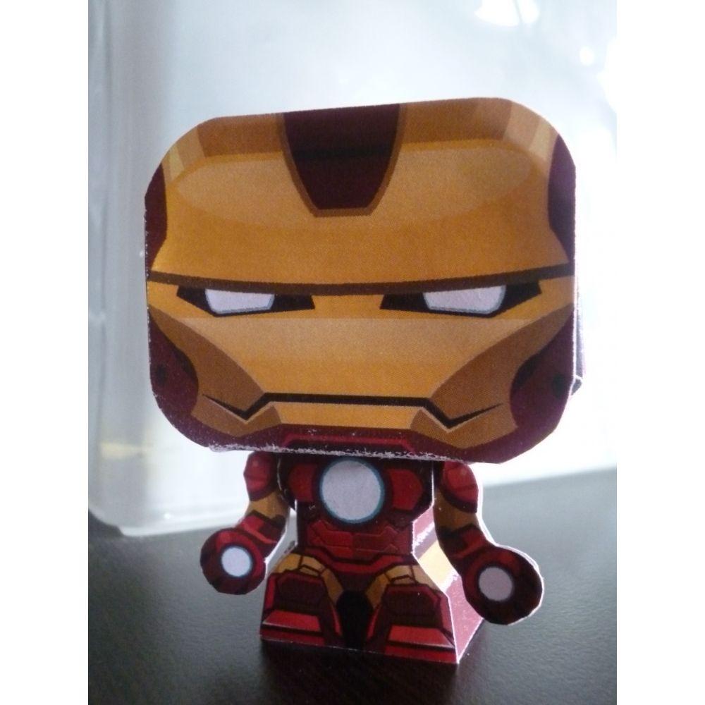 Ironman Papercraft Papertoy Iron Man Papercraft Pinterest