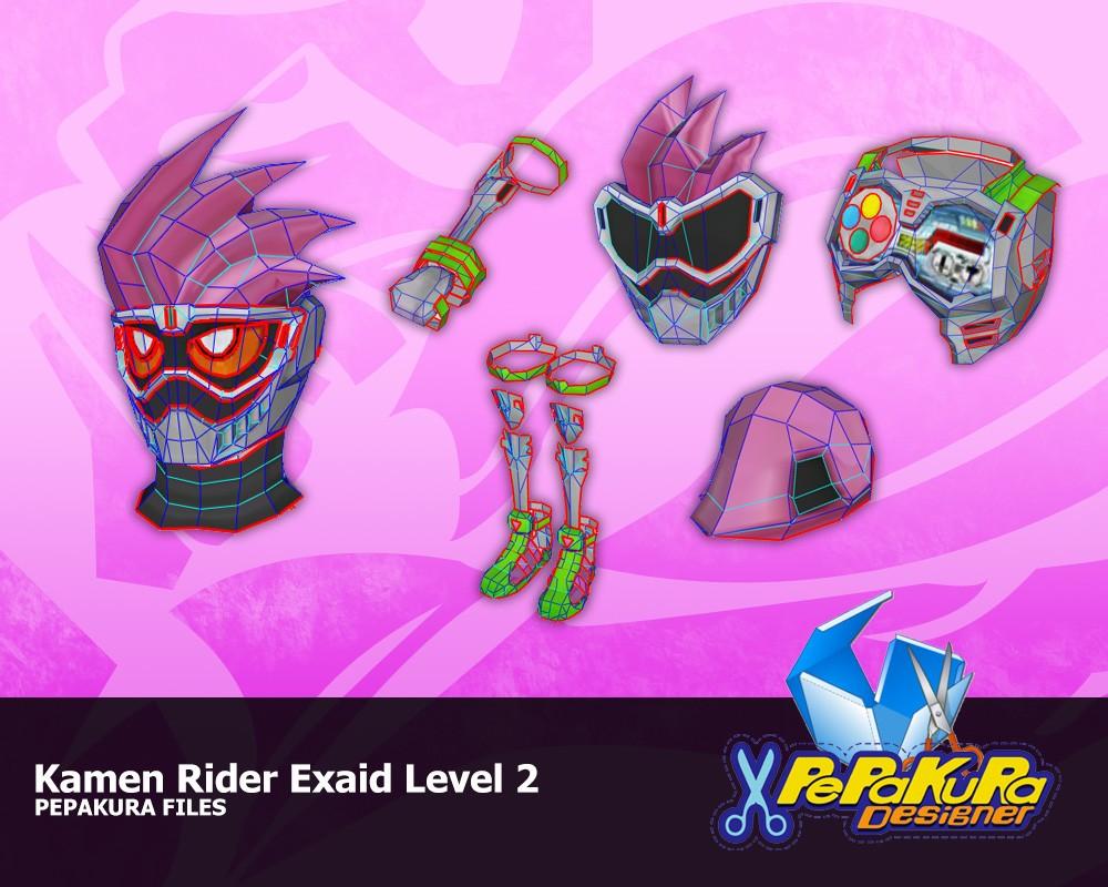 Kamen Rider Papercraft Constrictorz Patinya Taearak