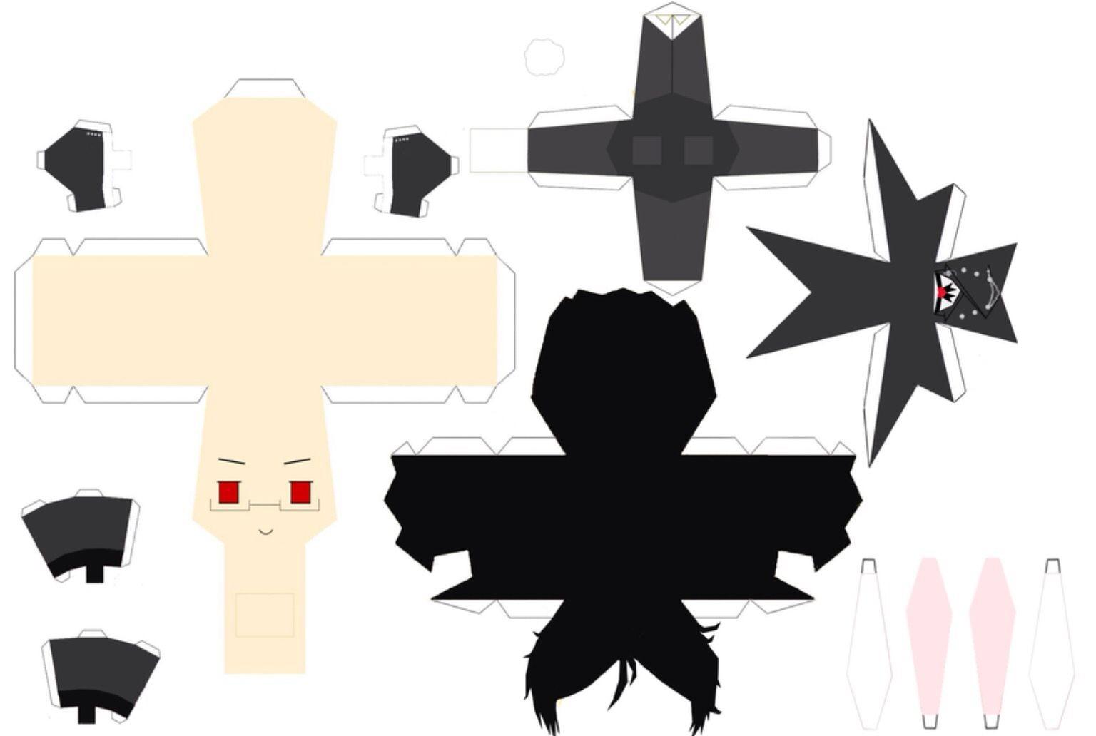Kuroshitsuji Papercraft Sebastian [paper Craft] Pinterest