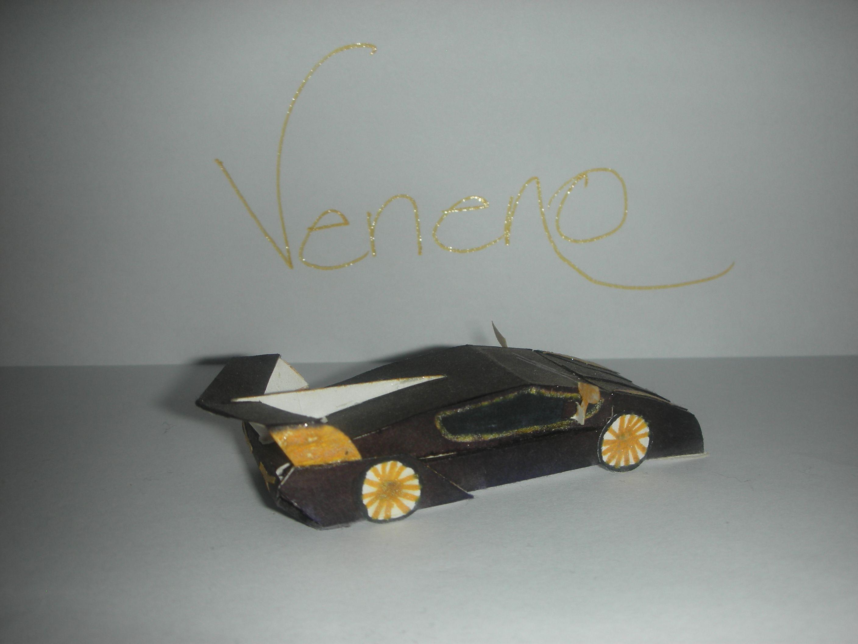 Lamborghini Papercraft Lamborghini Veneno Part 2