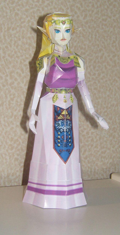 Legend Of Zelda Papercraft Papercraft Zelda Papercraft Pinterest