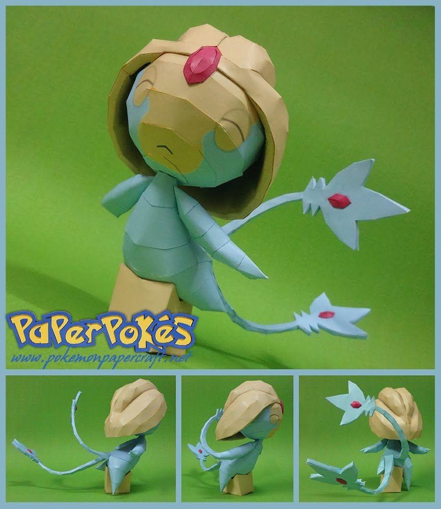 Lucario Papercraft Pokemon 480 Uxie Depapercraftblog Pinterest