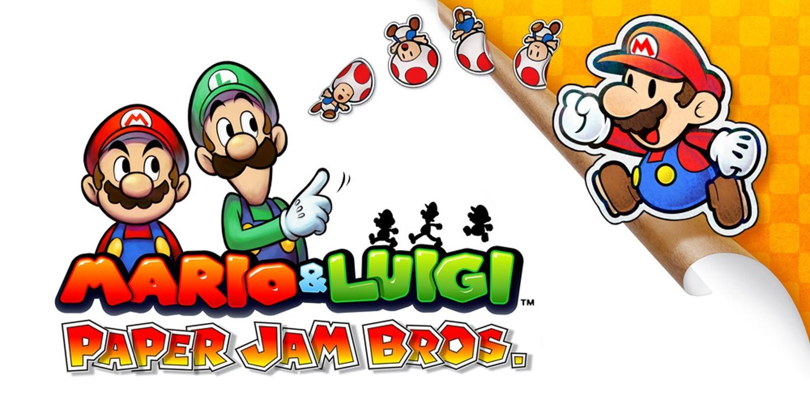 Mario Kart Papercraft Mario & Luigi Paper Jam Bros Nintendo 3ds Spiele