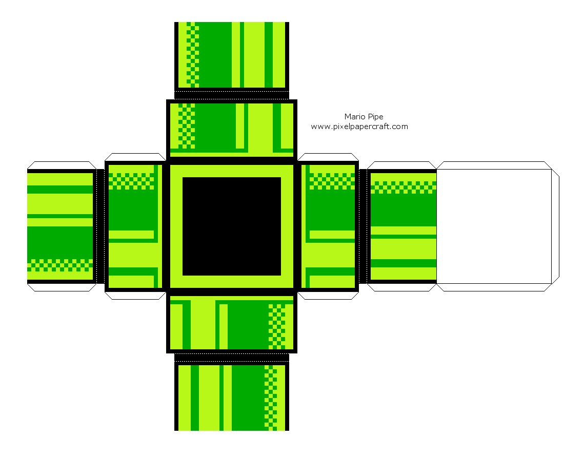 Mario Papercraft Papercraft Pesquisa Google Mario Pinterest