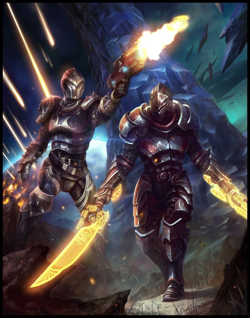 Mass Effect Papercraft Daarken S Fantasy Art Has Shades Of Mass Effect Ani