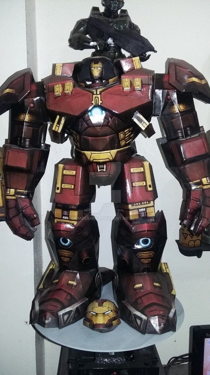 Master Chief Papercraft Hulkbuster Hulkbuster is Ironman Papercraft by Dumdumbot