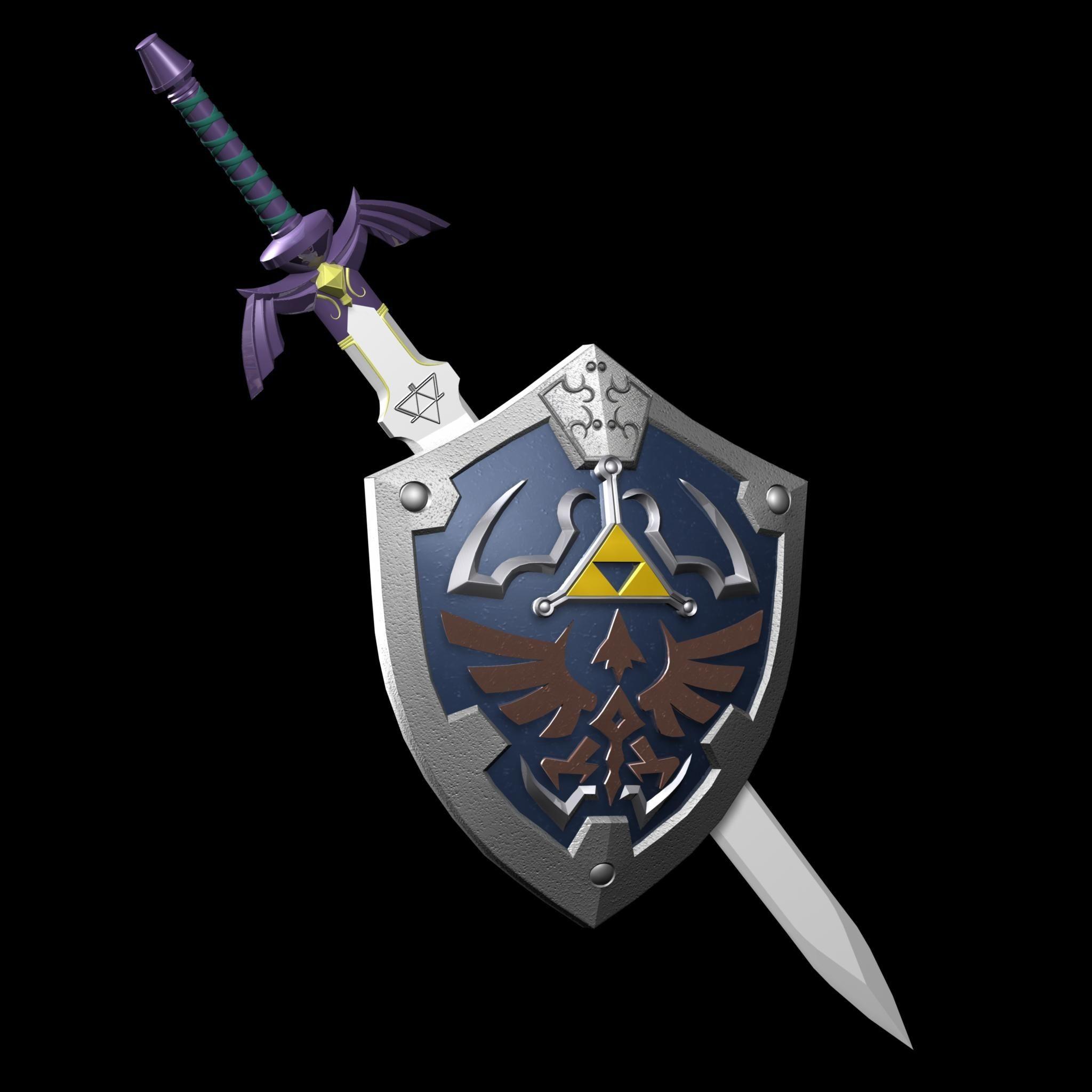 Master Sword Papercraft Master Sword
