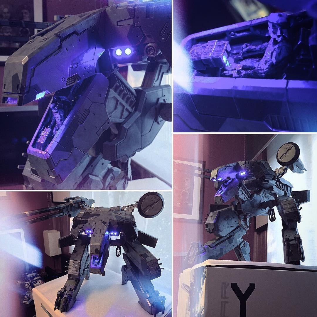 Metal Gear Rex Papercraft Instagram Mgrex åœ–ç‰‡ï¼Œè¦–é ä¸‹è¼‰ Twgram