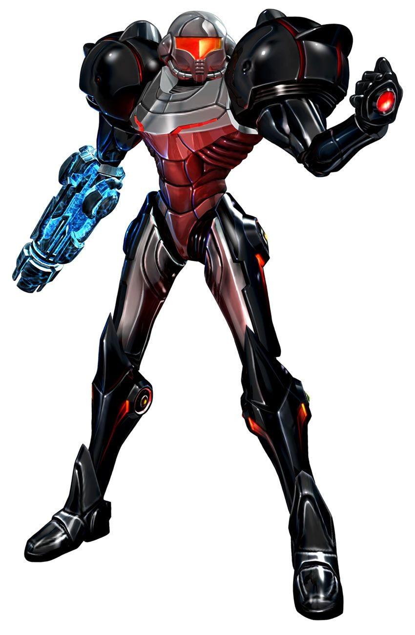 Metroid Papercraft Metroid Prime Phazon Suit Samus Pinterest