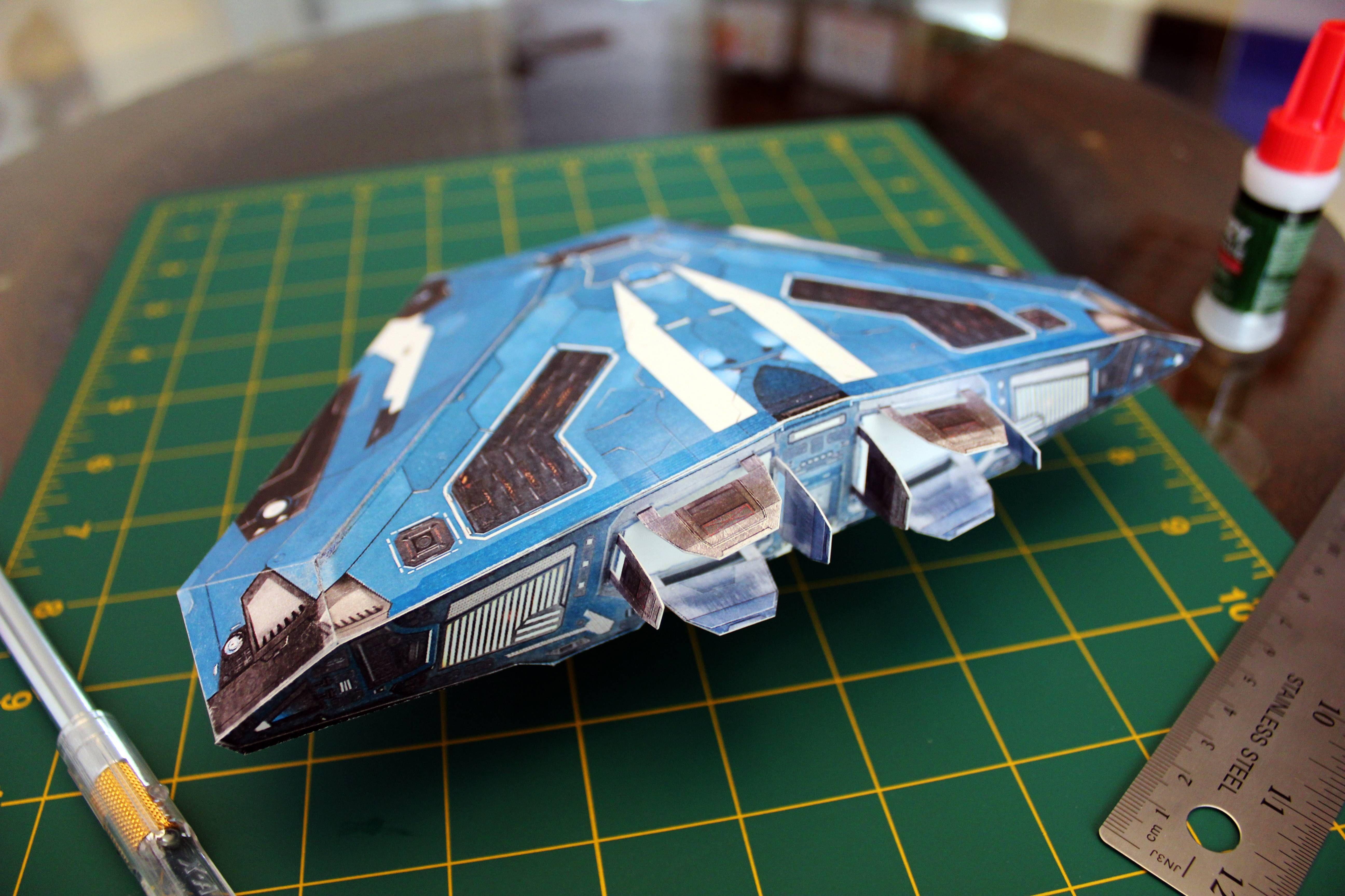 Millenium Falcon Papercraft Elite Dangerous Cobra Mk Iii Papercraft