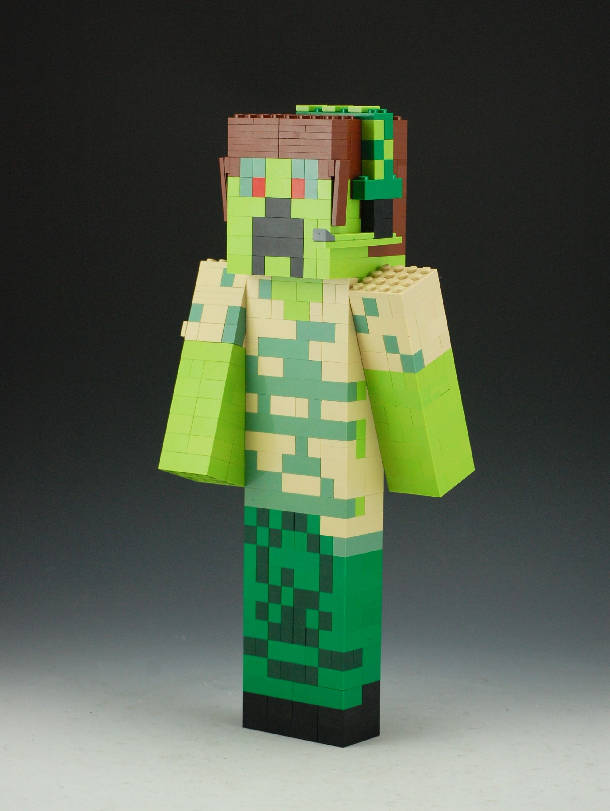 Minecraft Deluxe Papercraft Lego Minecraft Custom Skin Lego Minecraft Pinterest