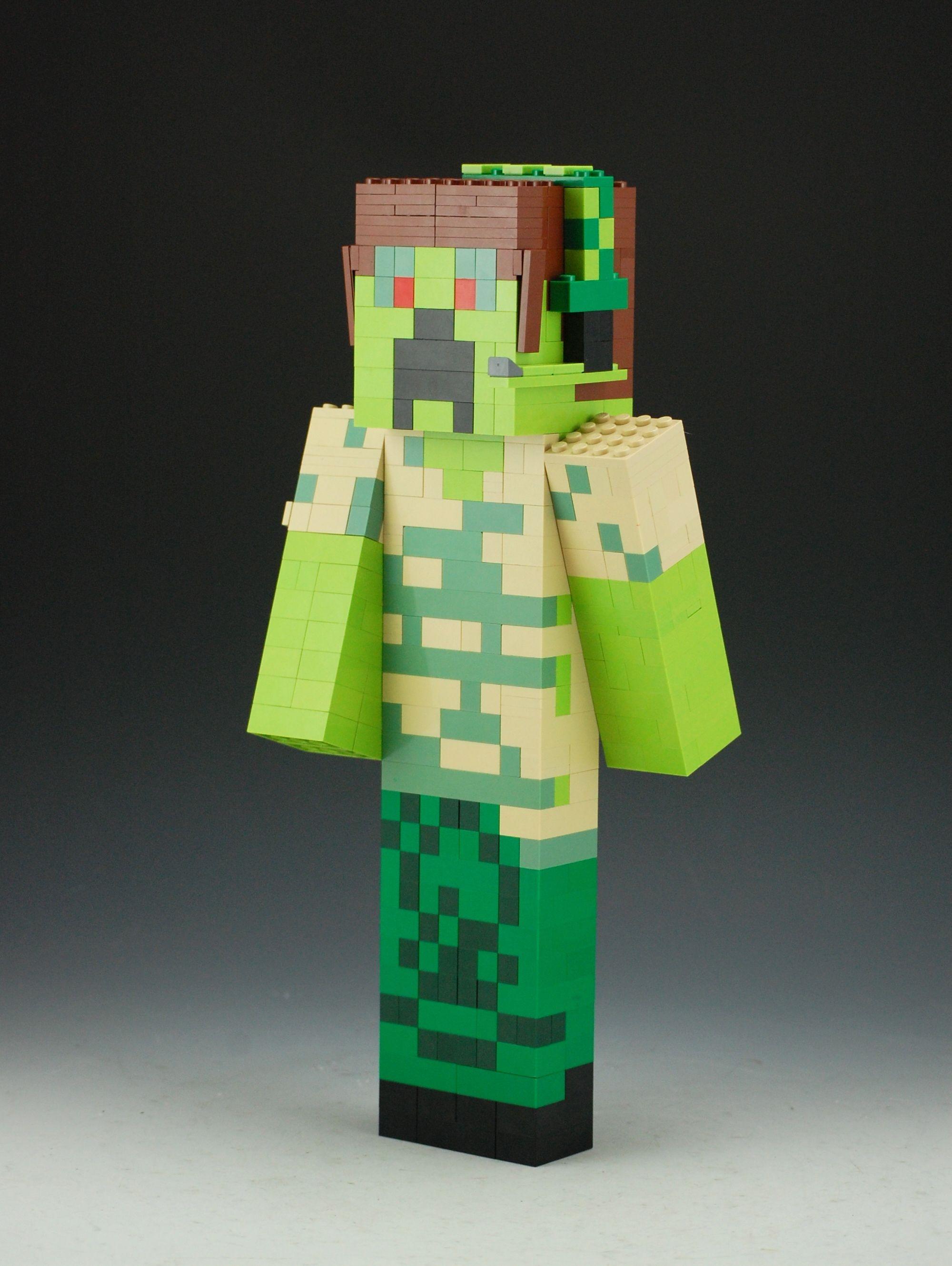 Minecraft Papercraft Deluxe Lego Minecraft Custom Skin Lego Minecraft Pinterest