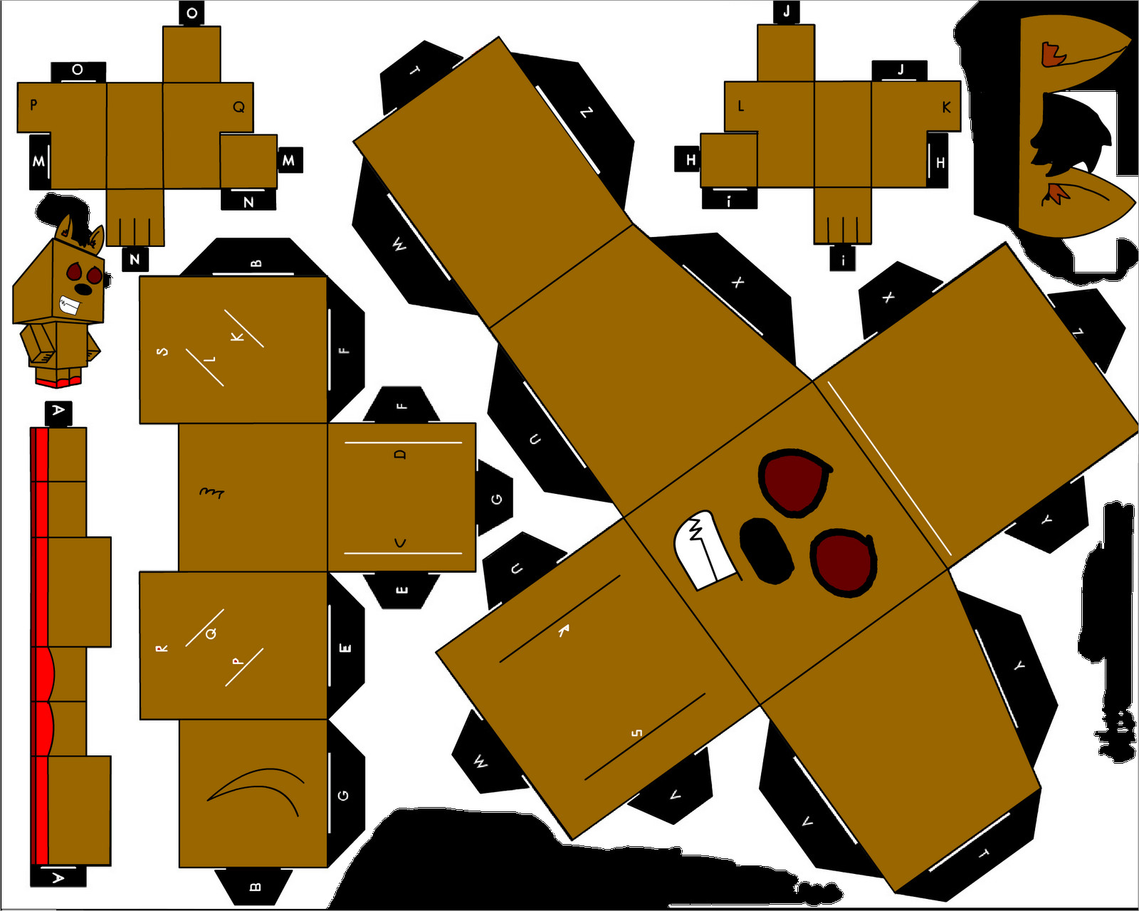Minecraft Papercraft Models Free Download Papercraft Templates Minecraft