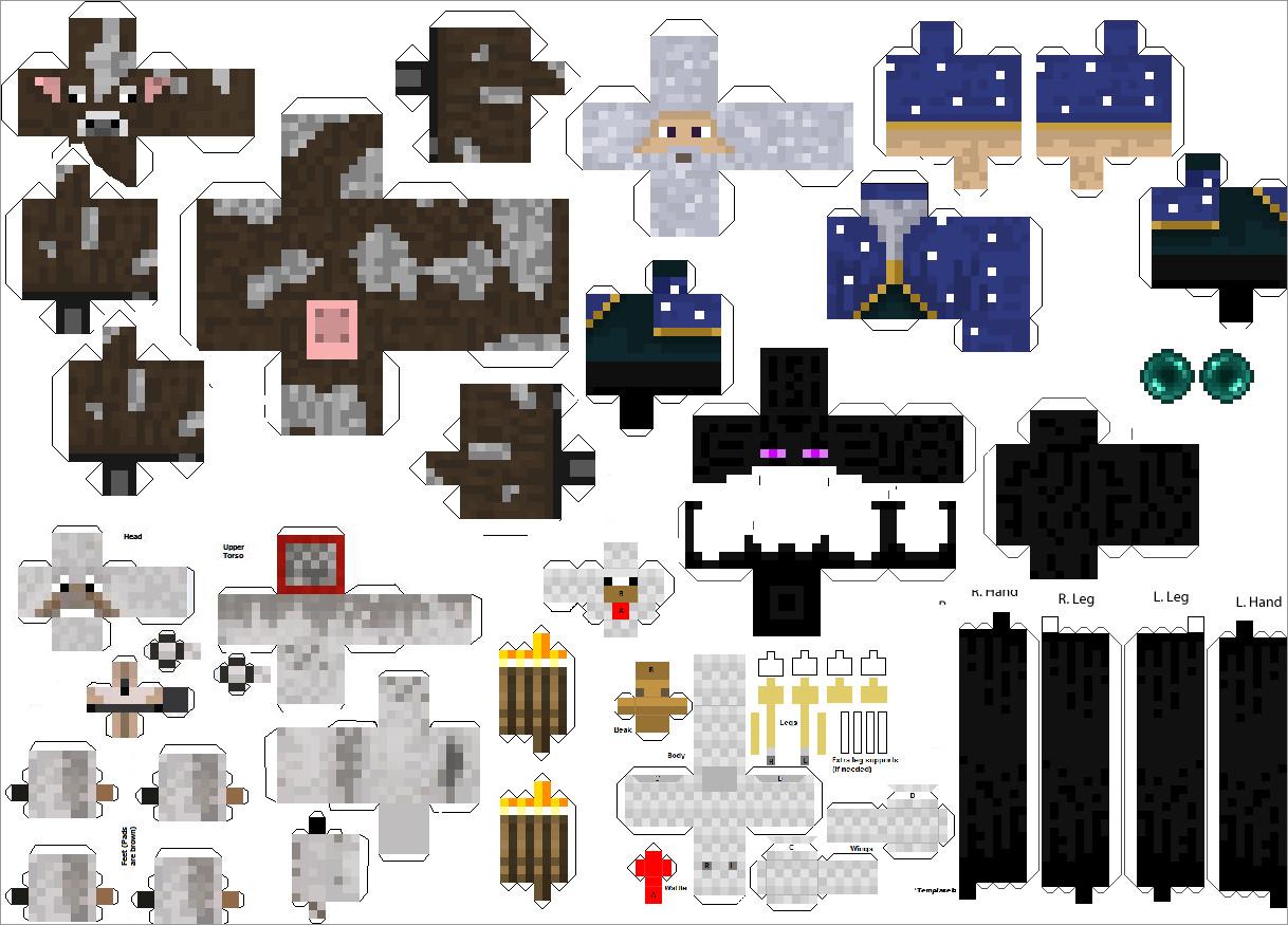 Minecraft Papercraft Models Minecraft Papercraft Studio Free Download