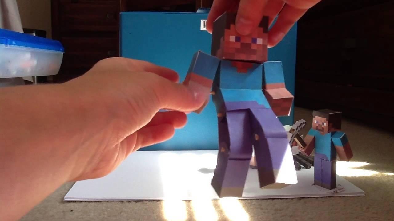 Minecraft Papercraft Overworld Minecraft Papercraft Update