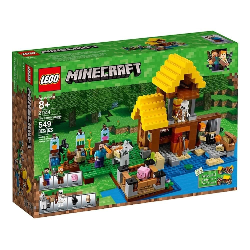 Minecraft Papercraft Overworld Set Lego Minecraft La Cabaıa De La Pinterest