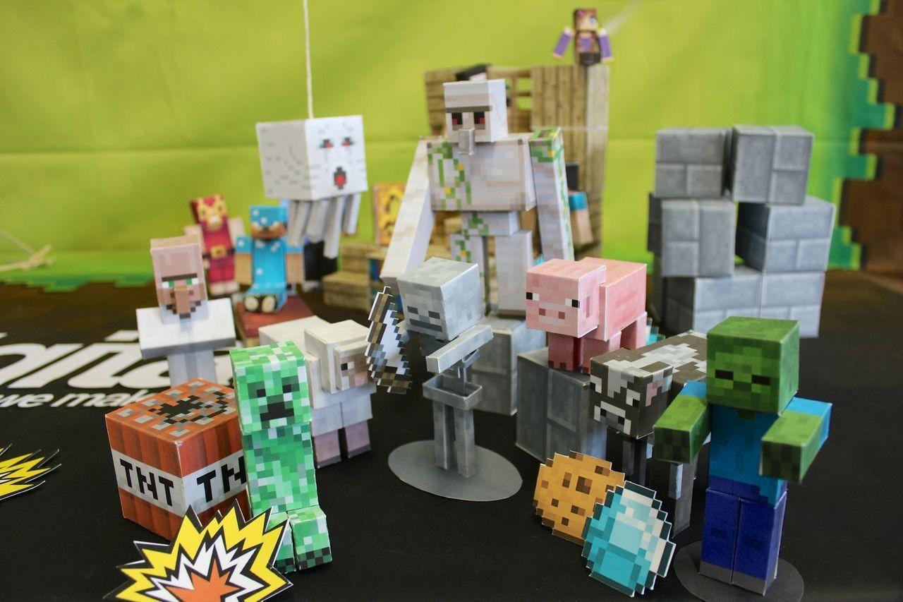 Minecraft Papercraft Shelter Set Minecraft Google Search Crazy for Minecraft