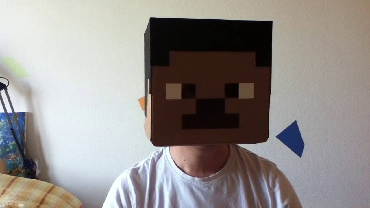 Minecraft Papercraft Zombie Minecraft Kopf Basteln Folge1