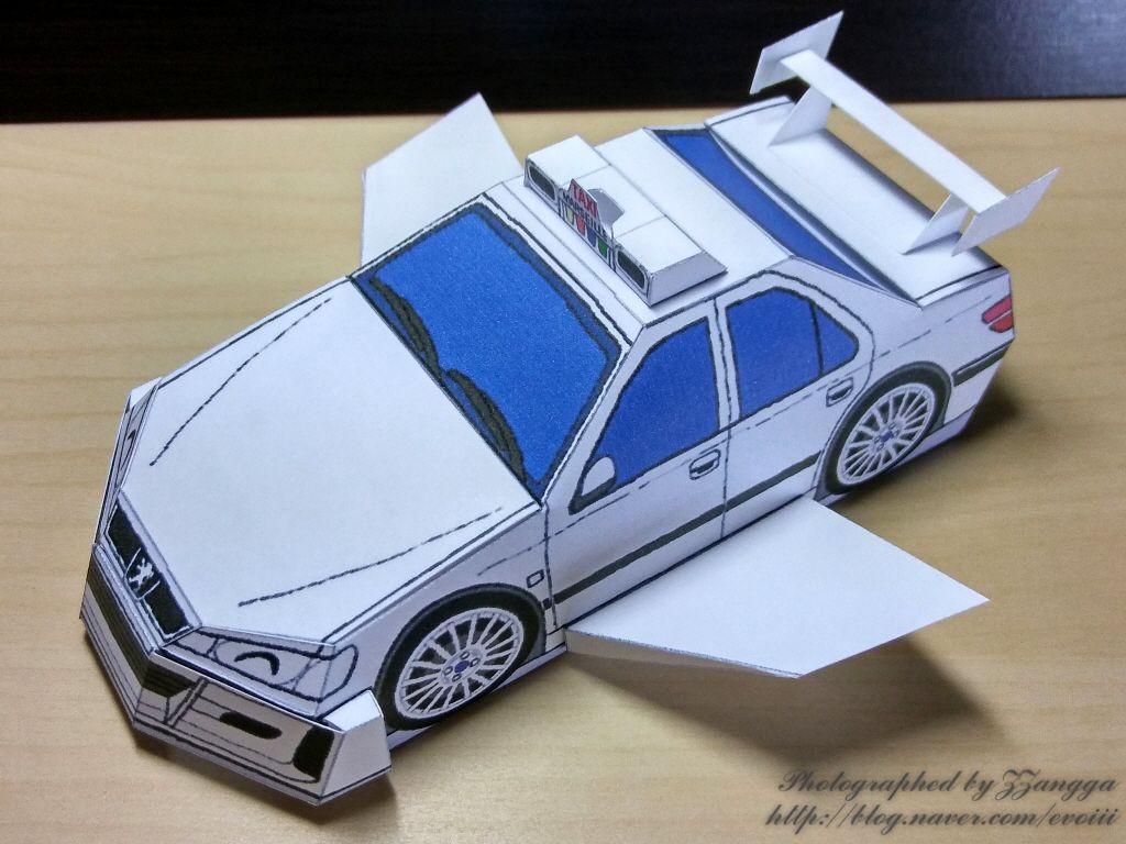 Mini Cooper Papercraft Peugeot 406 Papercraft 종이모˜• My Papercraft