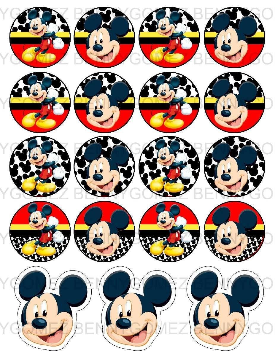 Minnie Mouse Papercraft Kit Imprimible Gratis De Mickey Imagui Imprimibles
