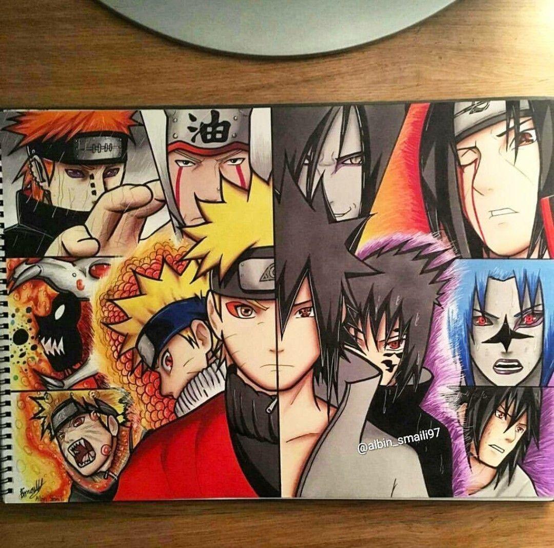 Naruto Papercraft Albin Smaili97 • Arteyata • ⛩ Pinterest