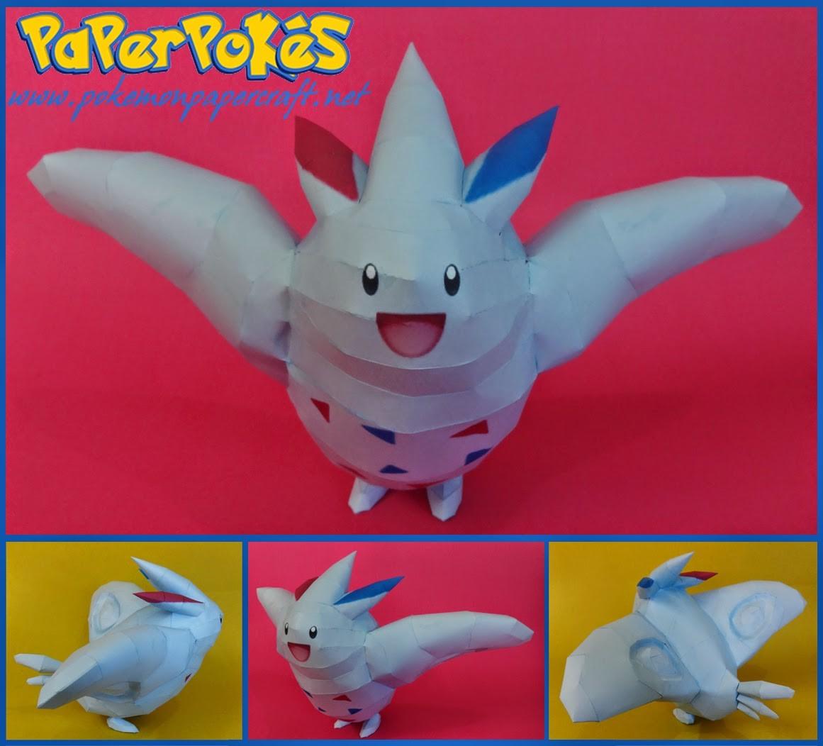 Ninjatoes Papercraft Paperpokés Pokémon Papercraft 2014