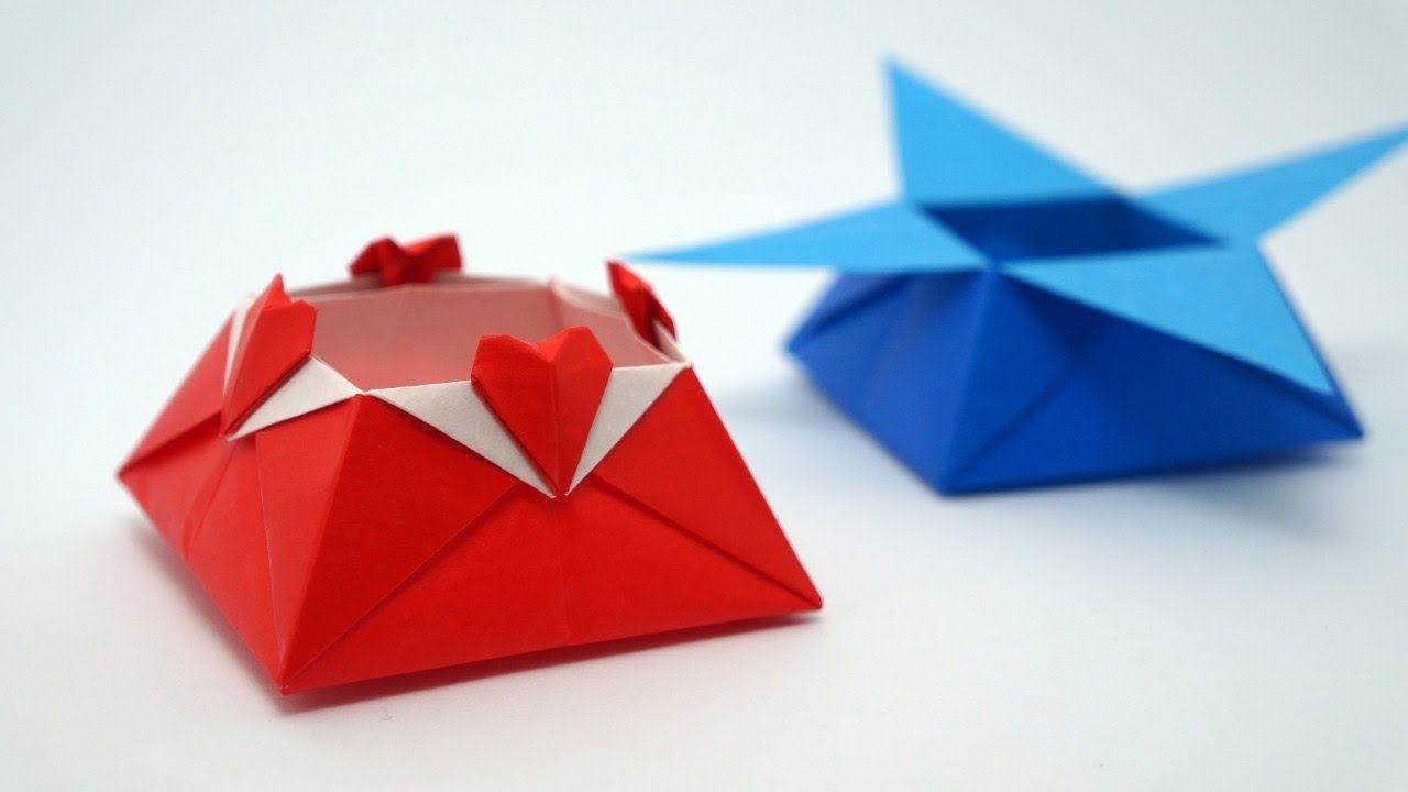 Origami Papercraft origami Love Box Jo Nakashima