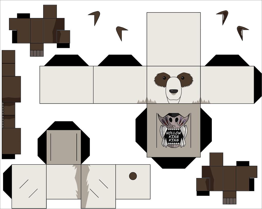 Panda Papercraft Panda Papercraft Download