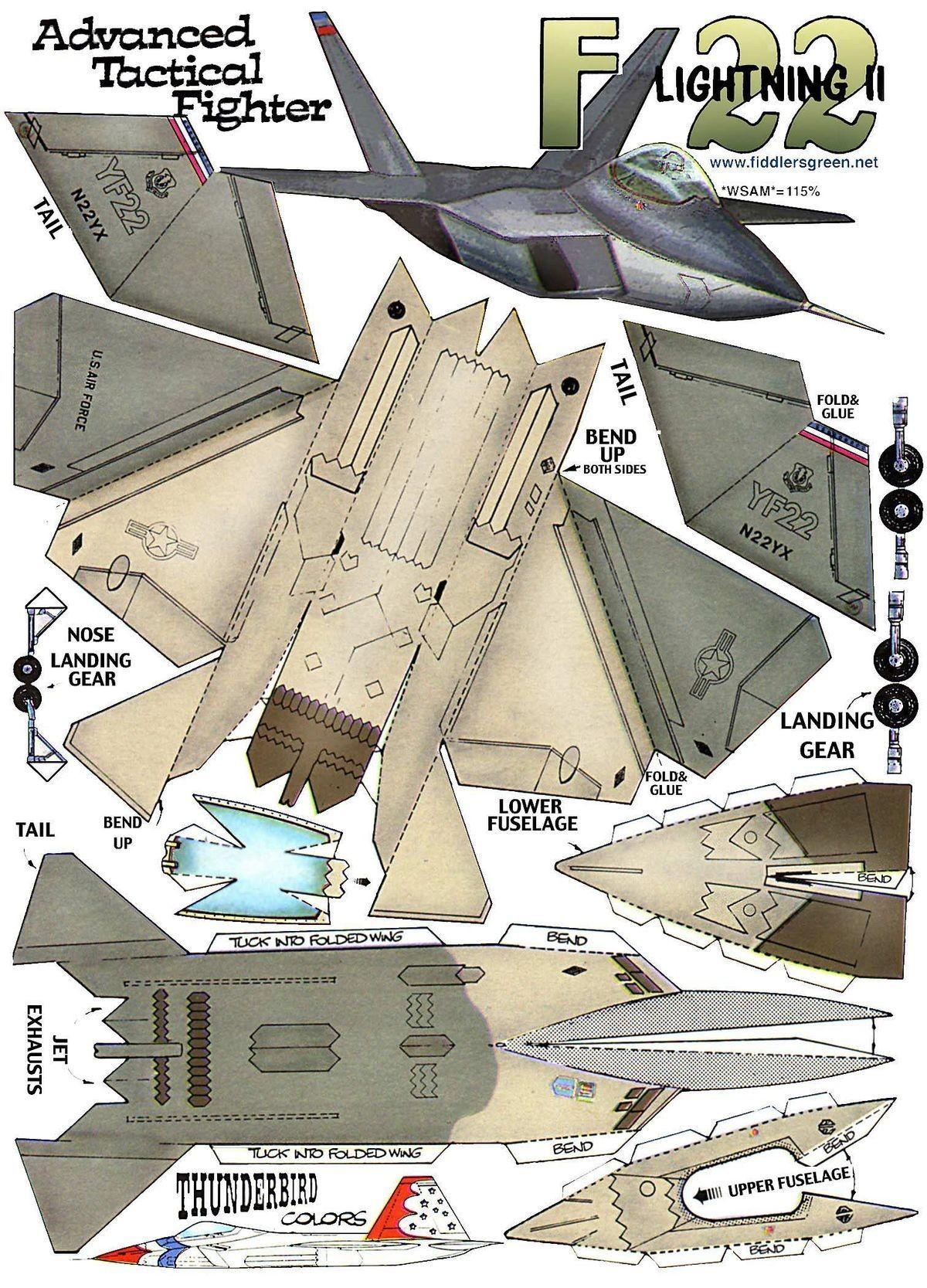 Papercraft Aircraft 6f182ac D378aaebcb9a A0 1 200—1 667 Pixels