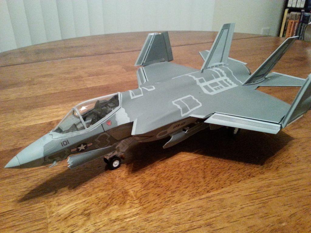 Papercraft Airplane Models 1 48 Kittyhawk F 35c Lightning Ii Aircraft Models