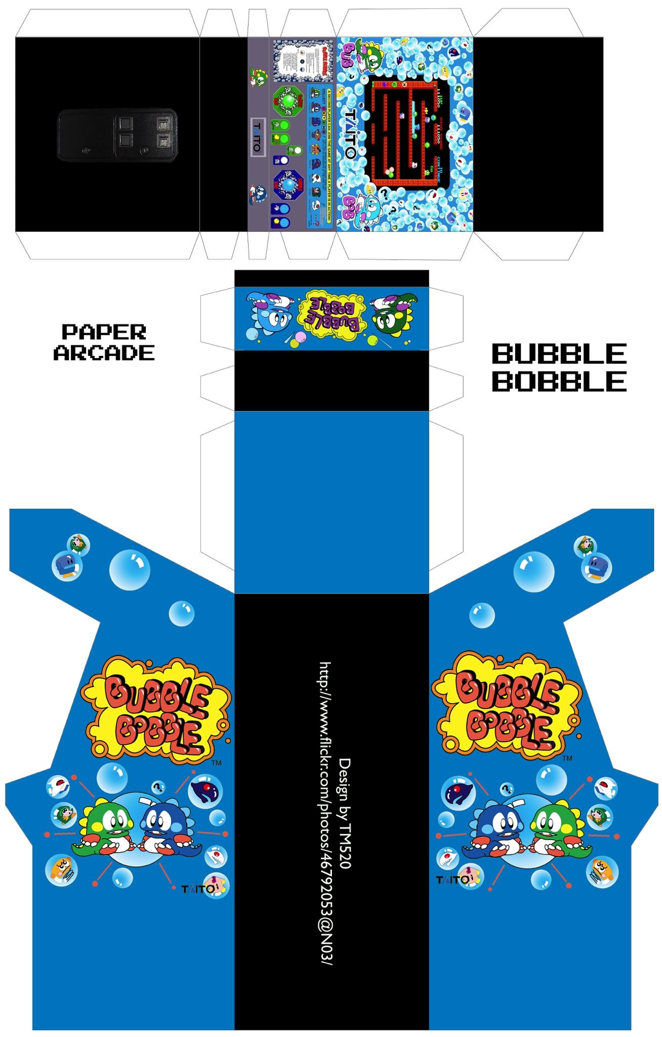 Papercraft Arcade Ade Museum Game Detailp Game Id=7222