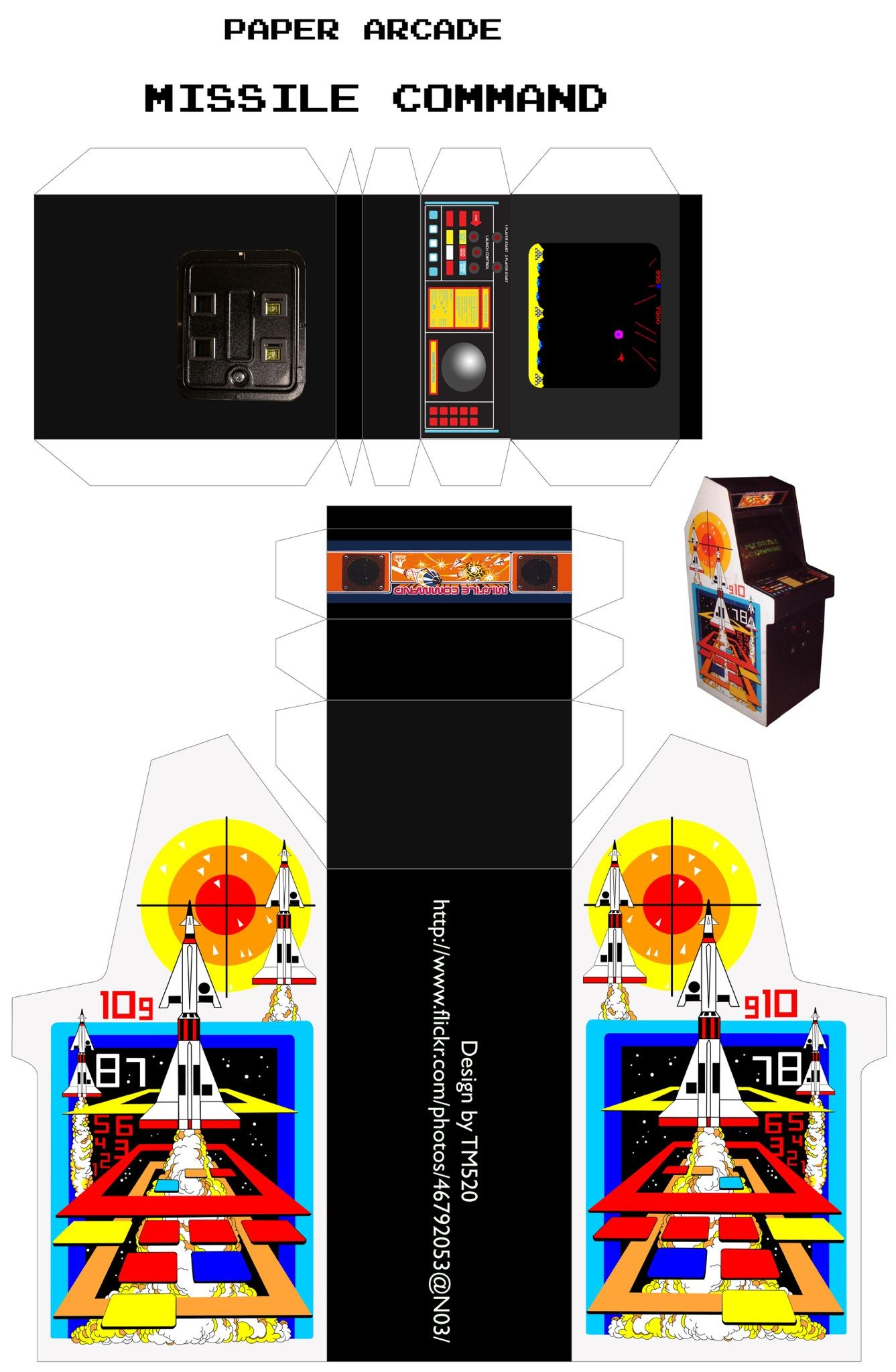 Papercraft Arcade Ade Museum Game Detailp Game Id=8955