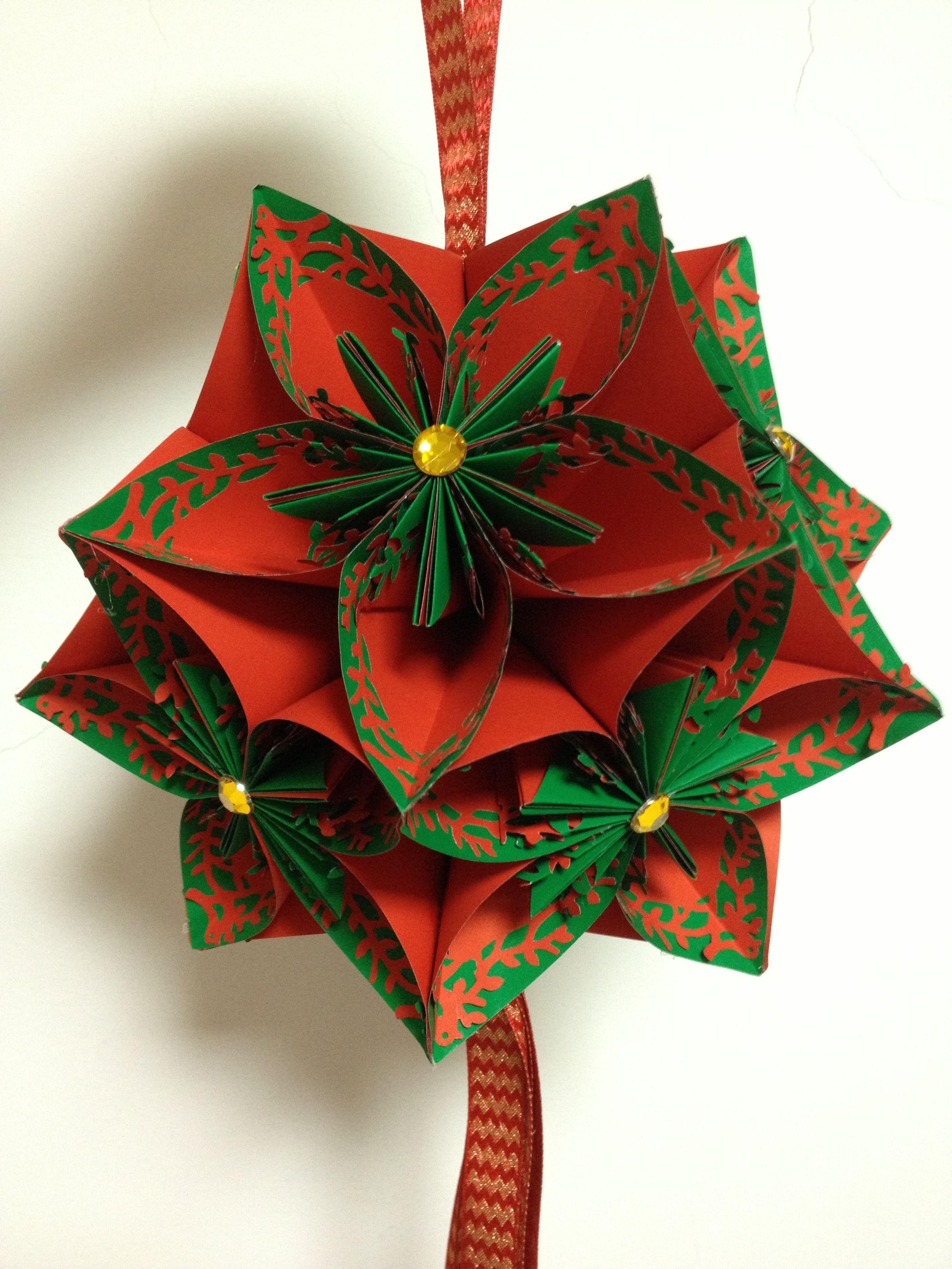 Papercraft Ball Ball Flower Scrapbook Cards Tags Pinterest