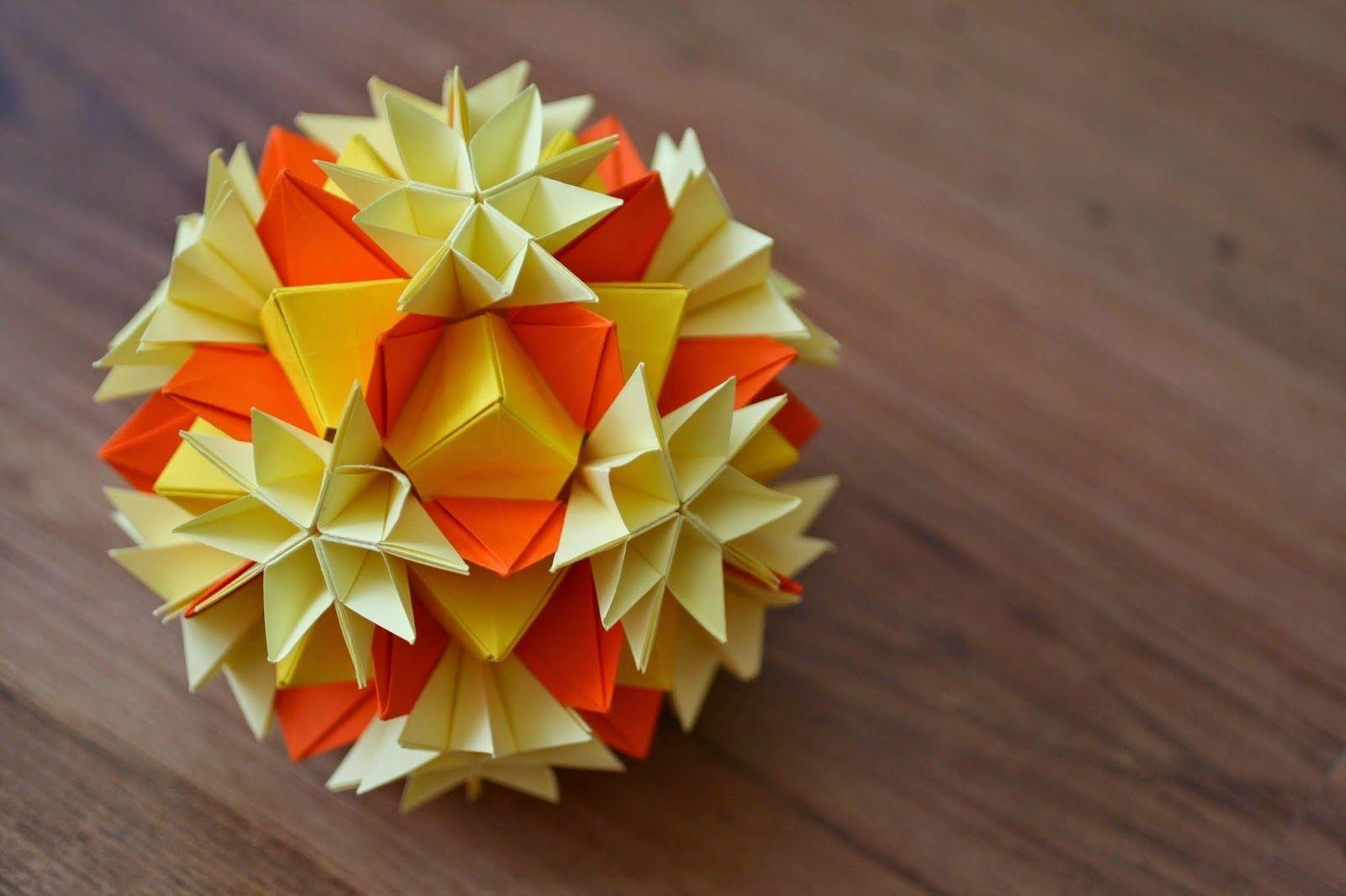 Papercraft Ball Kususama asterix 3d Art Pinterest