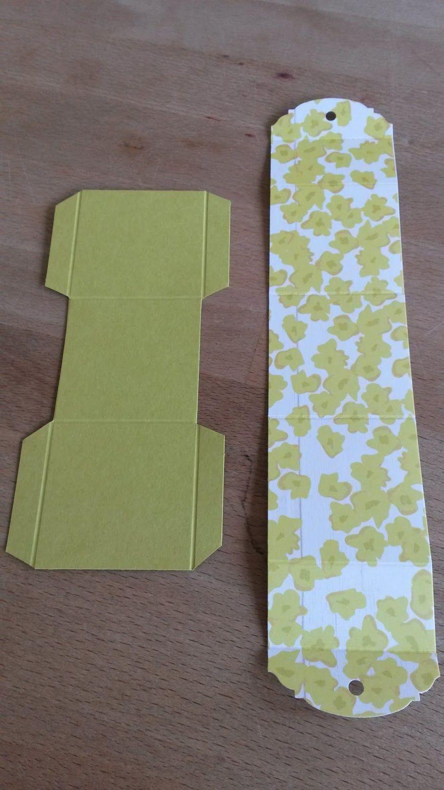 Papercraft Box Guten Morgen Ihr Lieben Ich Finde Kleine Boxen Ja sooo toll Es ist