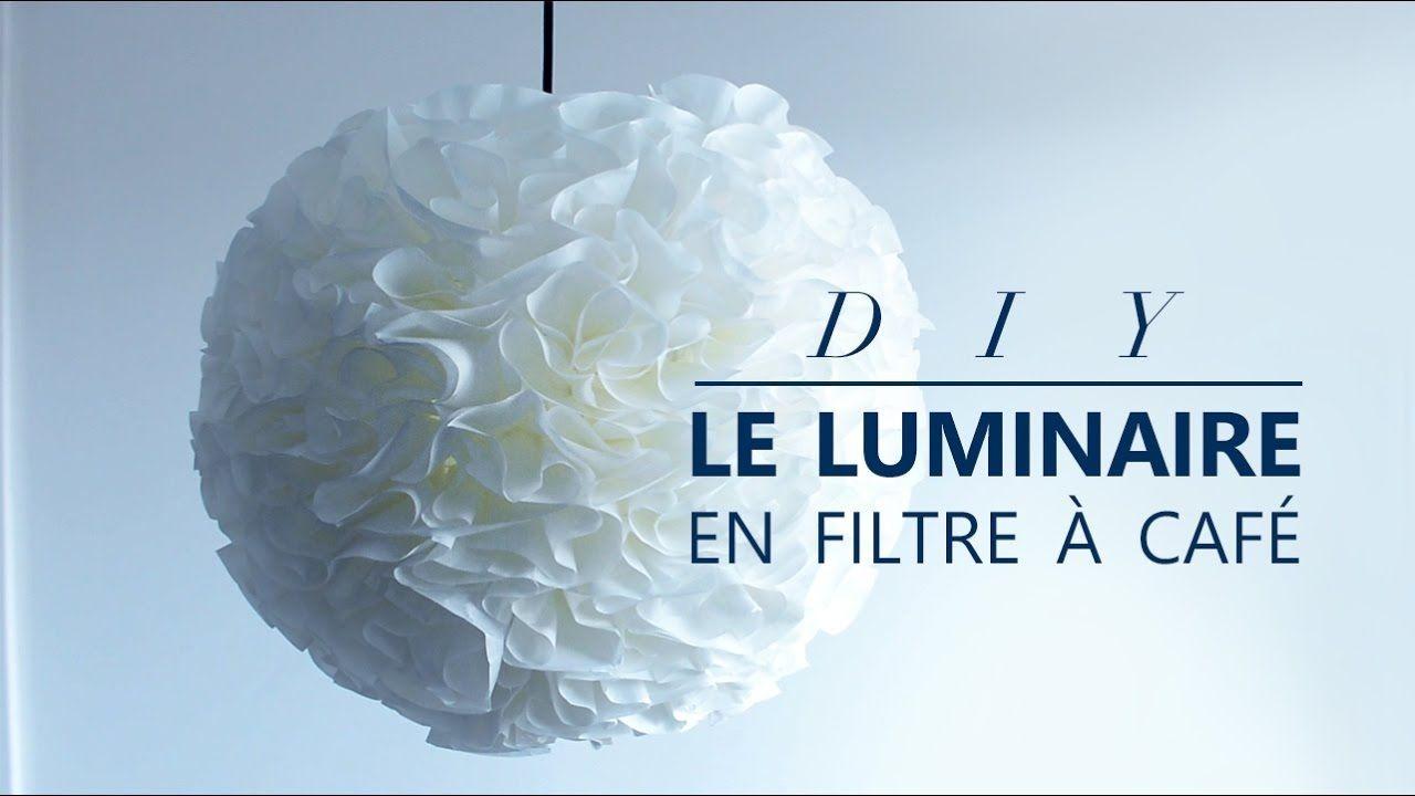 Papercraft Cafe Jour 24 Ment Faire Un Luminaire En Filtres € Café Diy Facile