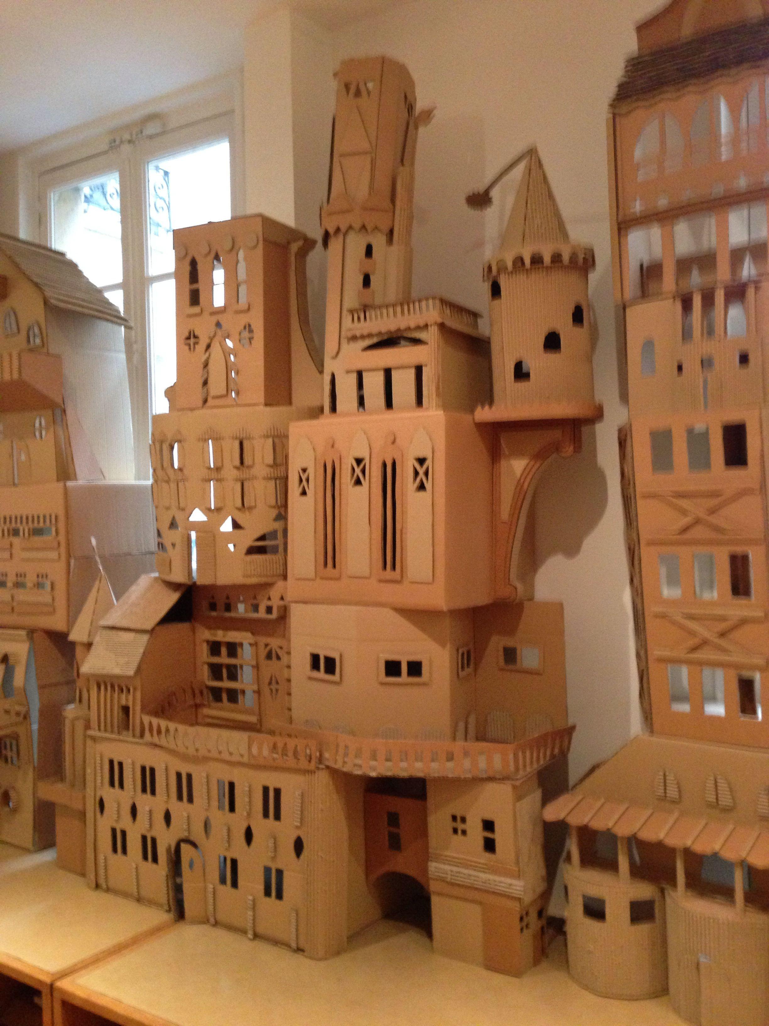 Papercraft Castle Cardboard Castle Paris ФайРы дРя вырезания Pinterest