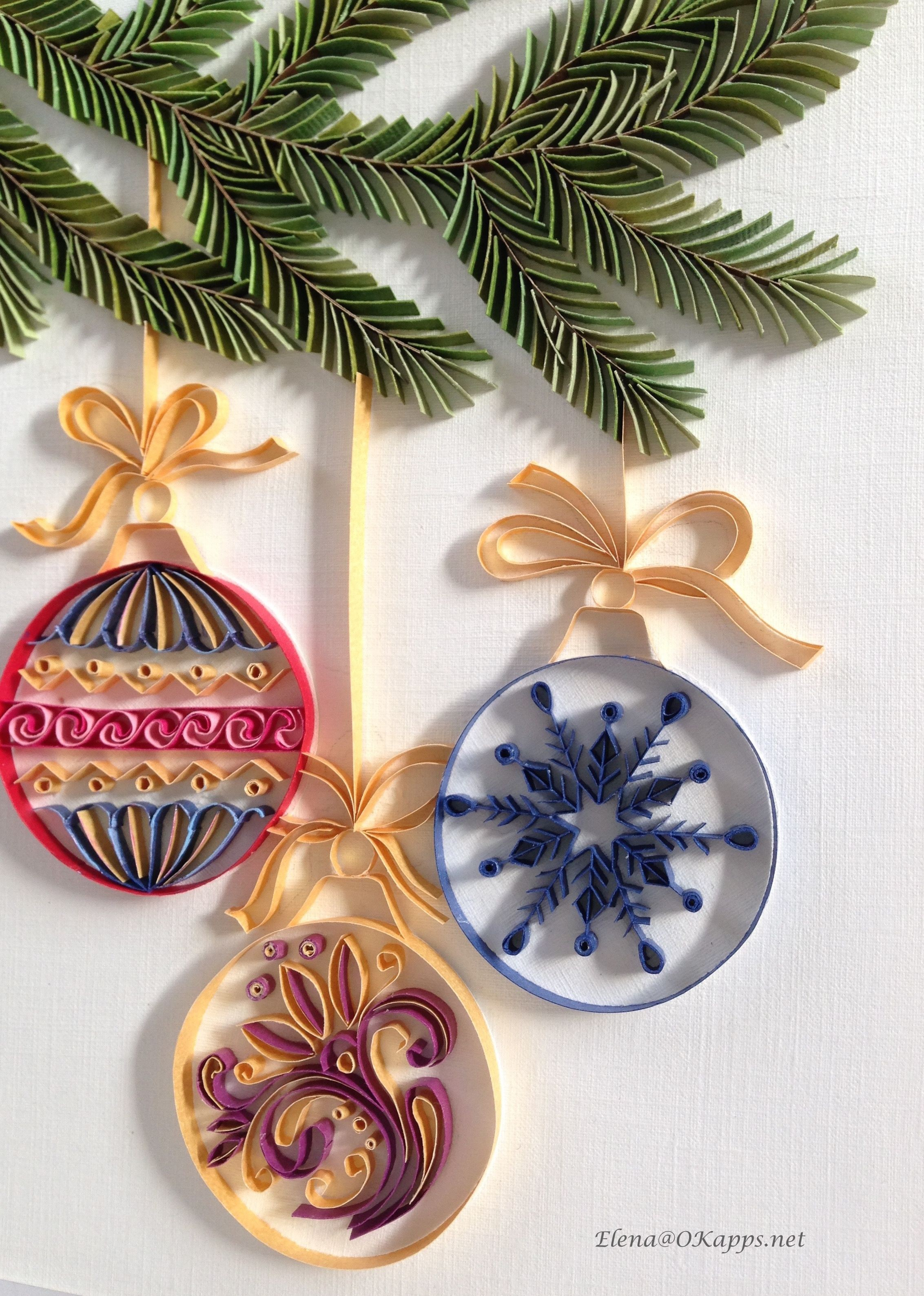 Papercraft Christmas Tree Christmas Tree Quilling Gorgeous Quill Pinterest