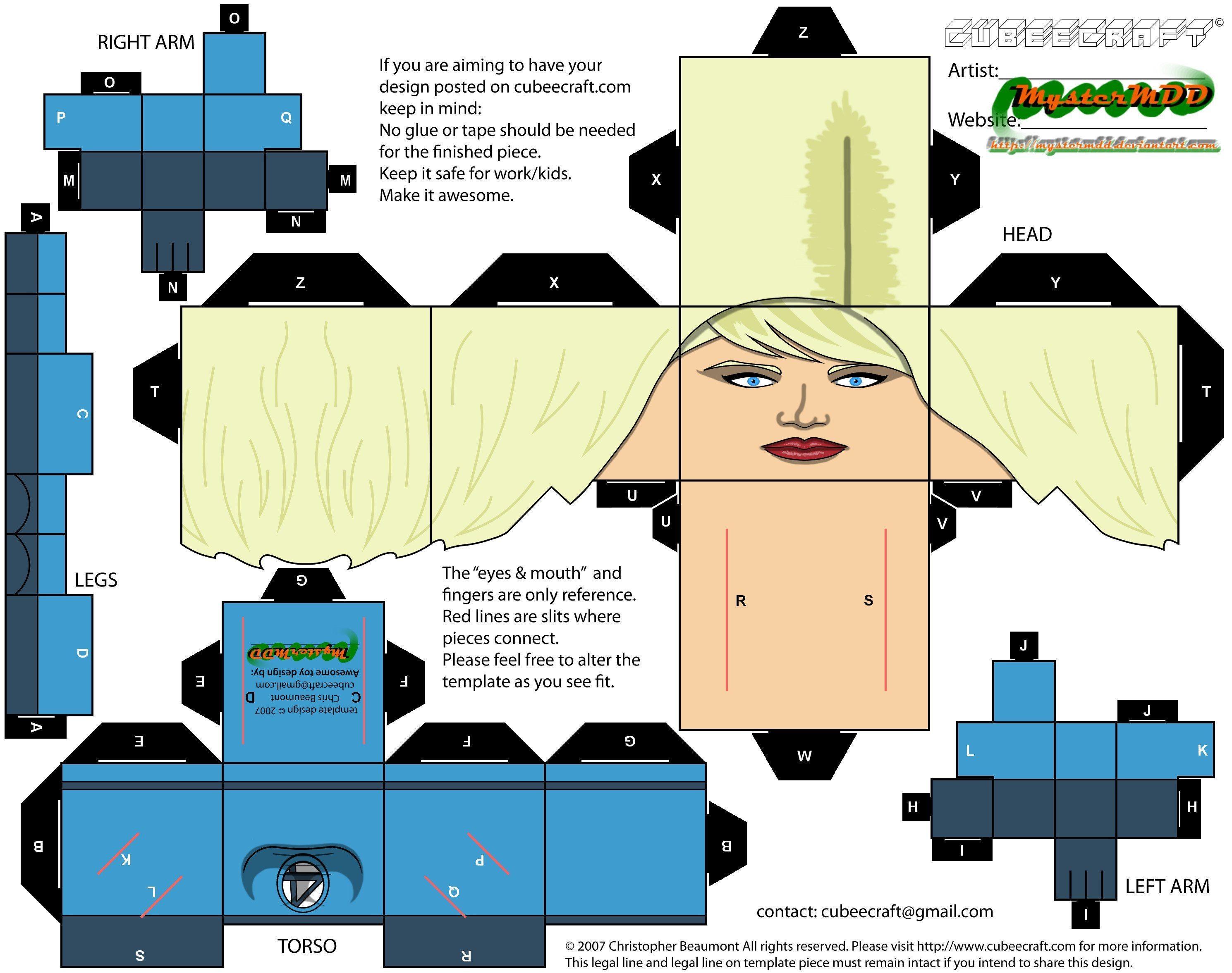 Papercraft Connection Cubeecrafts De Superhéroes Cubecraft Pinterest