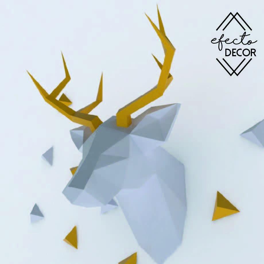 Papercraft Deer Pin by Mine Sart On Papercraft Deer Head Pinterest