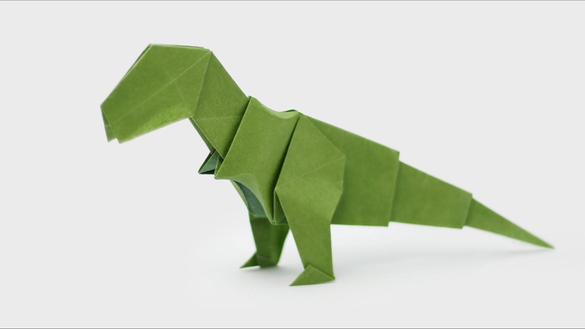 Printable Papercraft Dinosaur