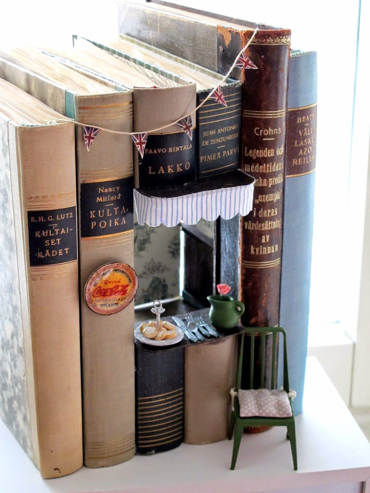 Papercraft Dollhouse Kioski Paper Crafts Pinterest