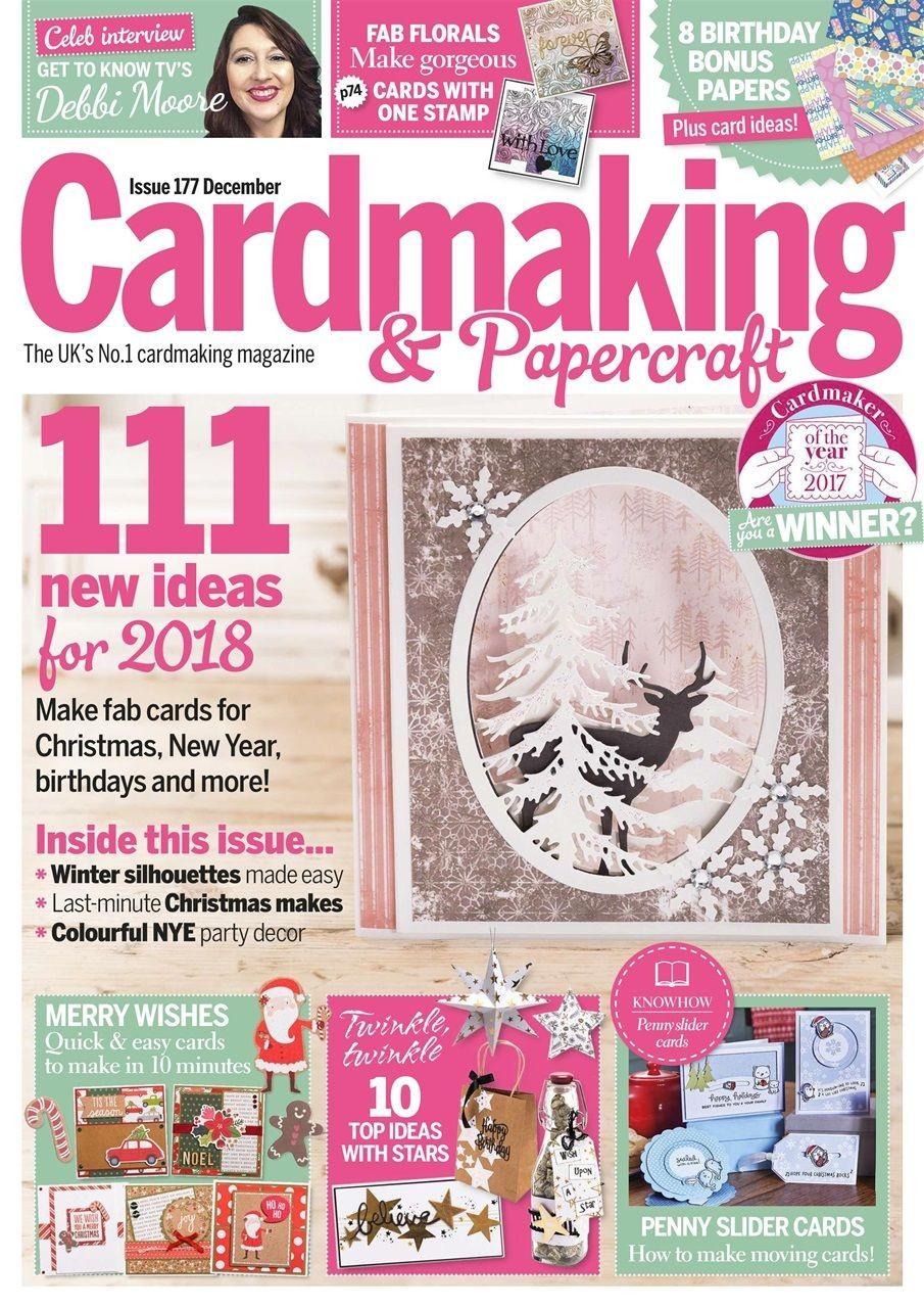 Papercraft Essentials Cardmaking & Papercraft Magazine Dekoráci³ Képeslapok