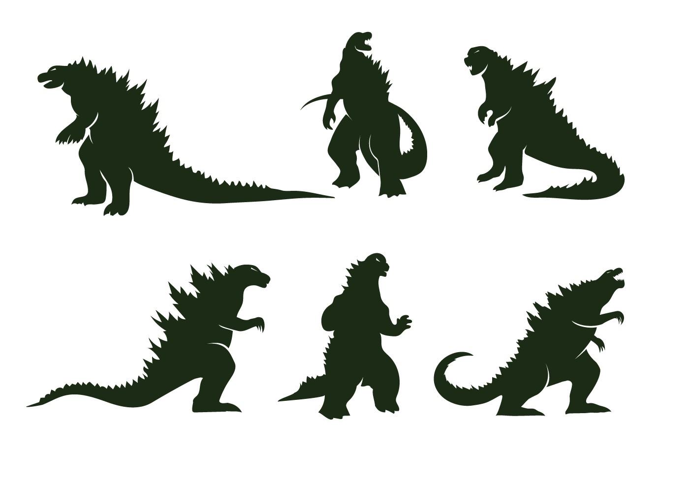 Papercraft Godzilla Free Godzilla Vector Crafts Pinterest