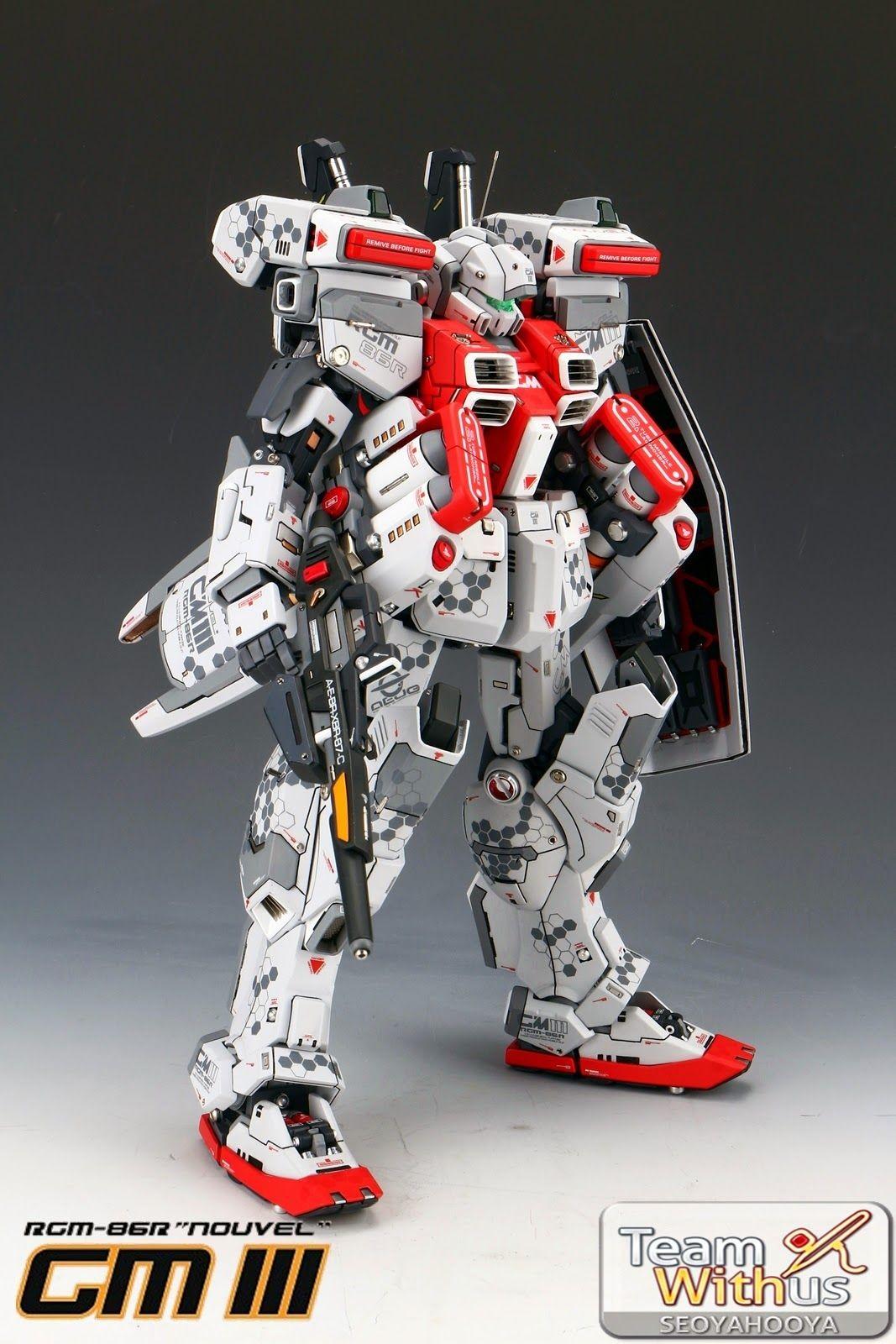 Papercraft Gundam Gundam Guy 1 72 Rgm 86r Gm Iii Nouvel Painted Build